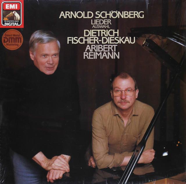 【未開封】 フィッシャー=ディースカウ&ライマンのシェーンベルク/歌曲集 独EMI 3287 LP レコード