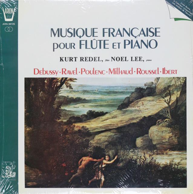 【未開封】レーデル&リーのプーランク/フルートとピアノのためのソナタほか 仏ARION 2748 LP レコード