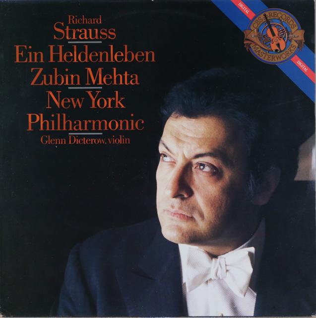 メータのR.シュトラウス/「英雄の生涯」 蘭CBS 2748 LP レコード