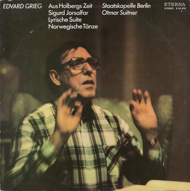 スウィトナーのグリーグ/「ホルベアの時代から」ほか 独ETERNA 3287 LP レコード