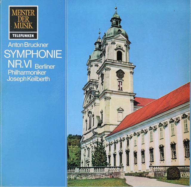カイルベルトのブルックナー/交響曲第6番 独telefunken 2747 LP レコード