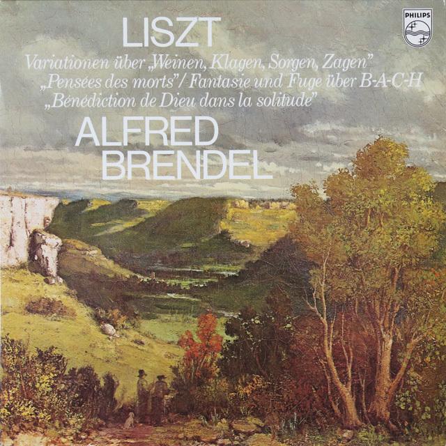 ブレンデルのリスト/ピアノ作品集 蘭PHILIPS 3287 LP レコード