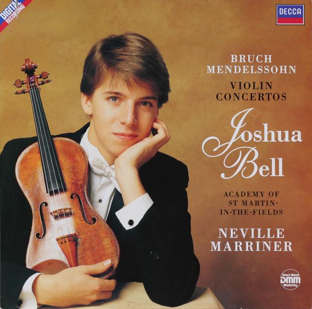ベル&マリナーのメンデルスゾーン&ブルッフ/ヴァイオリン協奏曲 独DECCA 3286 LP レコード