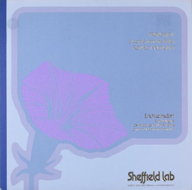 ダイレクト・カット! ラインスドルフのプロコフィエフ/バレエ「ロメオとジュリエット」より 独Sheffield Lab 3286 LP レコード