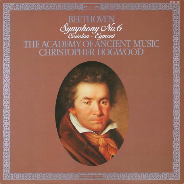 ホグウッドのベートーヴェン/交響曲第6番「田園」 蘭L'OISEAU-LYRE 2752 LP レコード