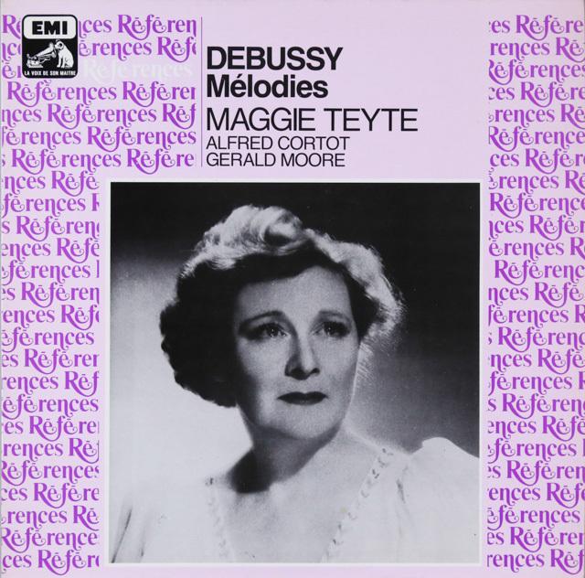 M.テイトのドビュッシー/歌曲集 仏EMI(VSM) 3299 LP レコード