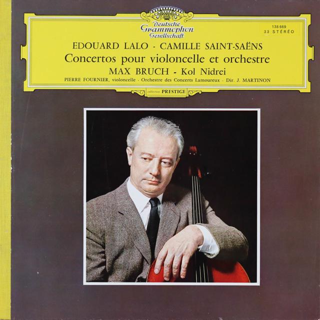 フルニエ&マルティノンのラロ/チェロ協奏曲ほか 独DGG 2801 LP レコード
