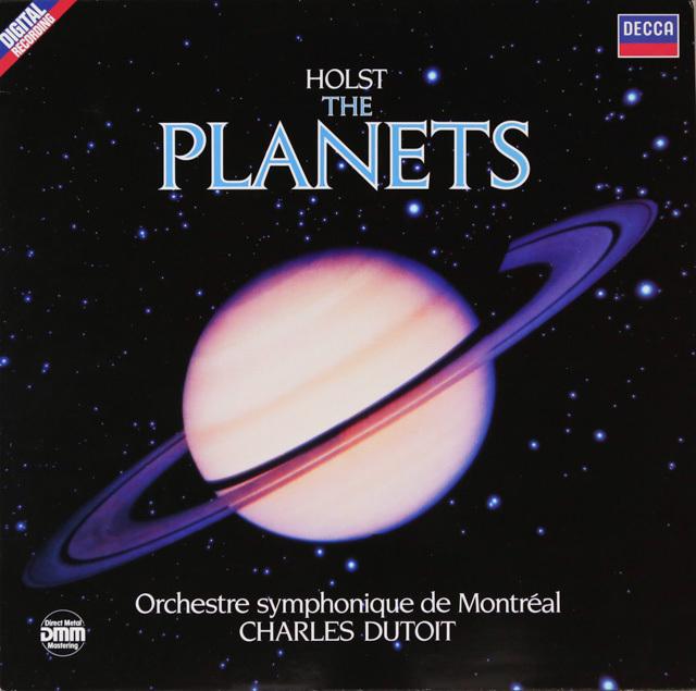 デュトワのホルスト/「惑星」 独DECCA 2802 LP レコード