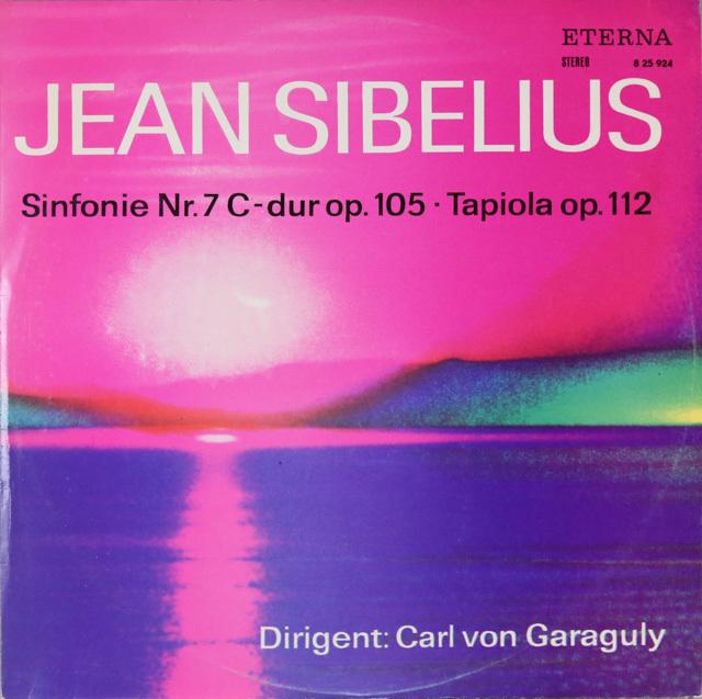 【テストプレス】 ガラグリーのシベリウス/交響曲第7番&交響詩「タピオラ」 独ETERNA 3299 LP レコード
