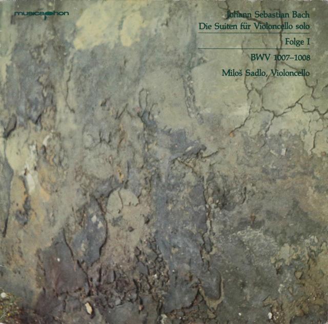 サードロのバッハ/無伴奏チェロ組曲全集 独musicaphon 2754 LP レコード