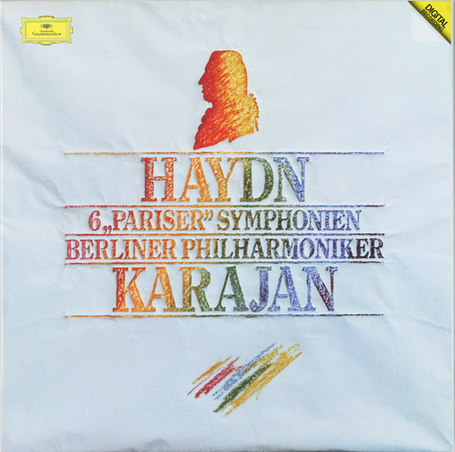 カラヤンのハイドン/パリ・セット 交響曲第82番から87番 独DGG 3286 LP レコード