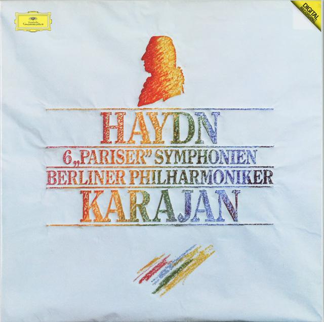カラヤンのハイドン/パリ・セット 交響曲第82番から87番 独DGG 2753 LP レコード