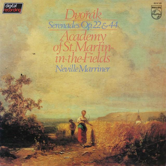 マリナーのドヴォルザーク/セレナード集 蘭PHILIPS 3299 LP レコード