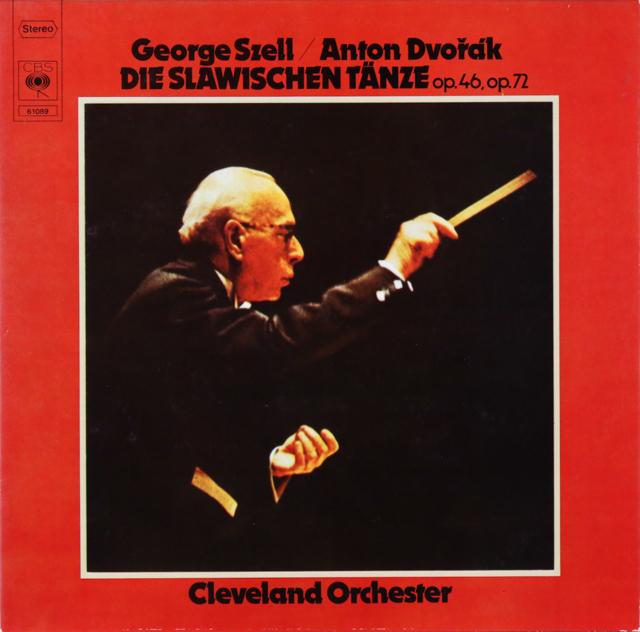 セルのドヴォルザーク/スラヴ舞曲集 独CBS 2804 LP レコード