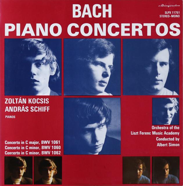 コチシュ&シフのバッハ/ピアノ協奏曲集 ハンガリーHungaroton 2804 LP レコード
