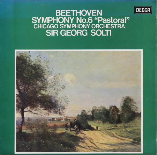 ショルティのベートーヴェン/交響曲第6番「田園」 英DECCA オリジナル盤 2806 LP レコード