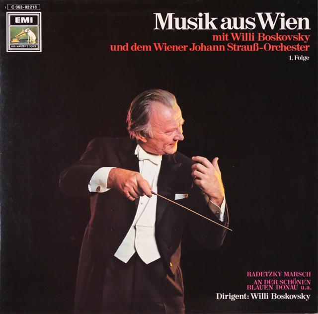 ボスコフスキーのウィーンの音楽 独EMI 3299 LP レコード