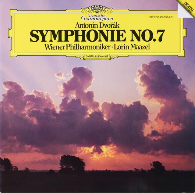 マゼールのドヴォルザーク/交響曲第7番 独DGG 3299 LP レコード