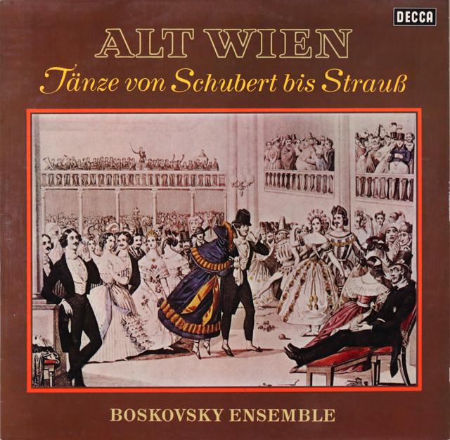 ボスコフスキーのウィーン舞曲集 独DECCA 2806 LP レコード