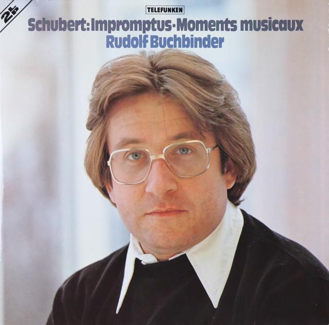 ブッフビンダーのシューベルト/即興曲&楽興のとき   独TELEFUNKEN 3299 LP レコード