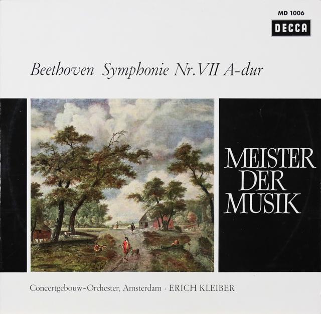 エーリヒ・クライバーのベートーヴェン/交響曲第7番 独DECCA 2805 LP レコード