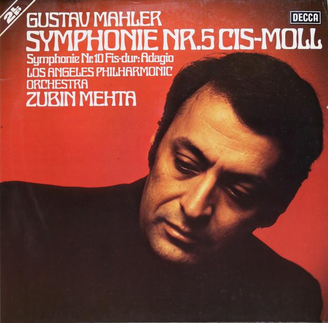 メータのマーラー/交響曲第5番 独DECCA 3299 LP レコード