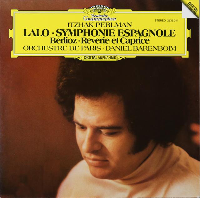 パールマン&バレンボイムのラロ/スペイン交響曲ほか 独DGG 3299 LP レコード