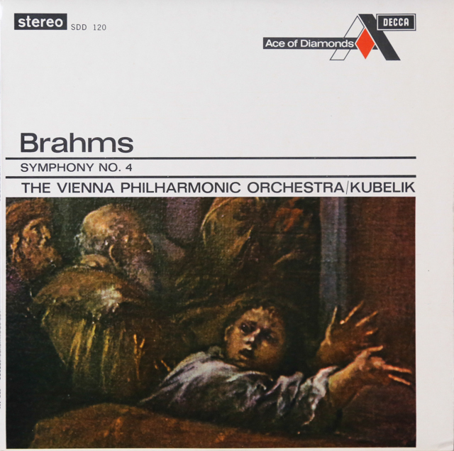 クーベリックのブラームス/交響曲第4番 英DECCA 2807 LP レコード