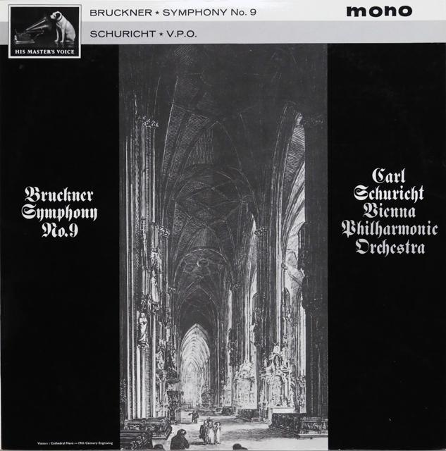 シューリヒトのブルックナー/交響曲第9番 英EMI 2807 LP レコード