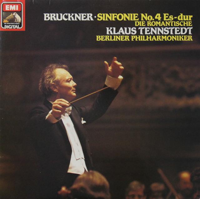 テンシュテットのブルックナー/交響曲第4番「ロマンティック」 独EMI 3298 LP レコード