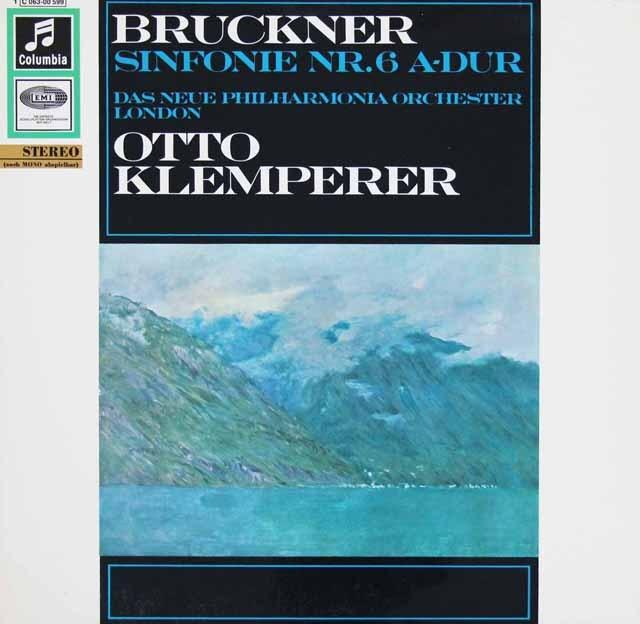クレンペラーのブルックナー/交響曲第6番 独EMI 3297 LP レコード