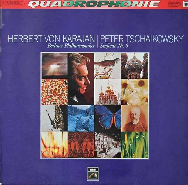 【独最初期盤】カラヤンのチャイコフスキー/交響曲第6番 独EMI 2822 LP レコード