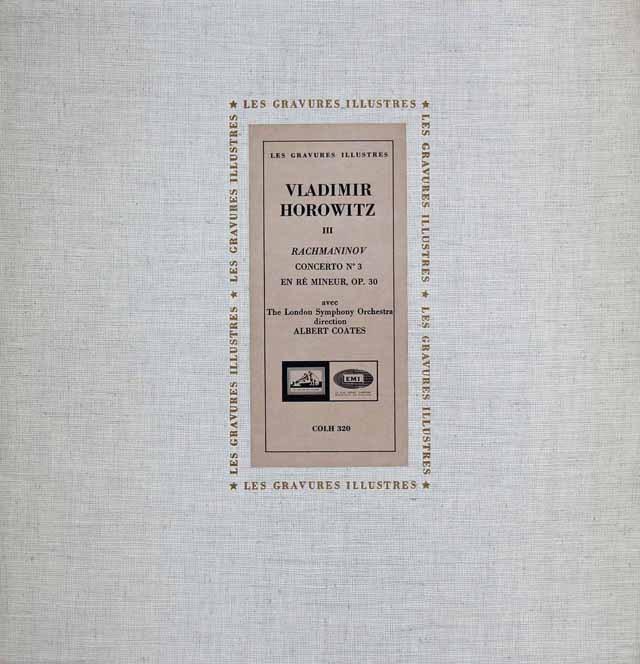 ホロヴィッツのラフマニノフ/ピアノ協奏曲第3番 仏EMI(VSM) 3296 LP レコード