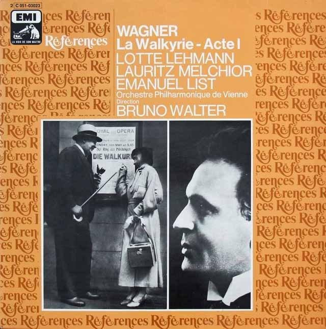 ワルターのワーグナー/「ワルキューレ」抜粋 仏EMI(VSM) 3296 LP レコード