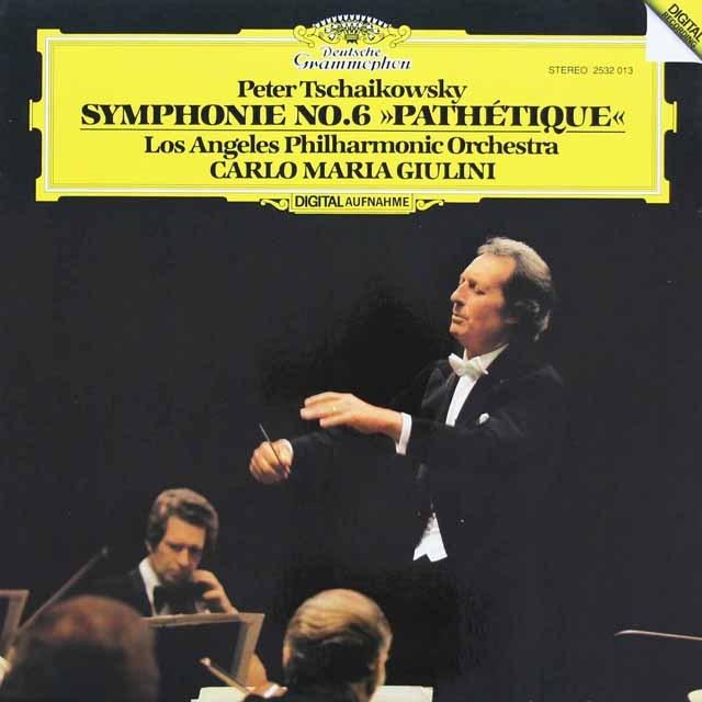 ジュリーニのチャイコフスキー/交響曲第6番「悲愴」 独DGG 3296 LP レコード