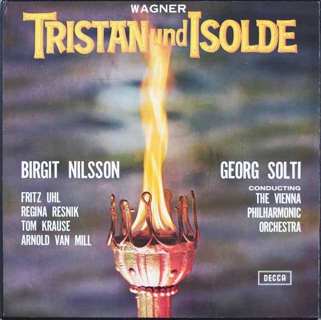 ショルティのワーグナー/「トリスタンとイゾルデ」全曲 英DECCA 2824 LP レコード