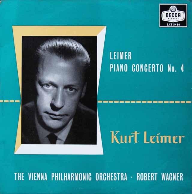 ライマーのピアノ協奏曲第4番(自作自演) 英DECCA オリジナル盤 2824 LP レコード