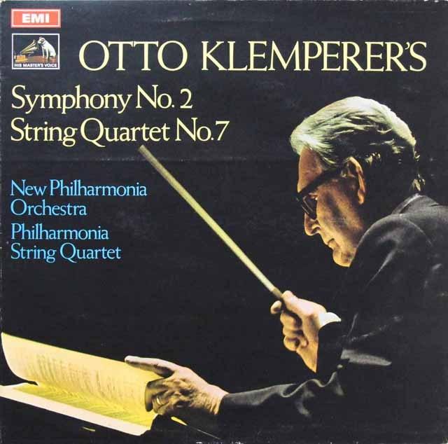 クレンペラーの自作自演/交響曲第2番ほか 英EMI 3296 LP レコード