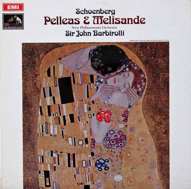 バルビローリのシェーンベルク/「ペレアスとメリザンド」 英EMI 3296 LP レコード