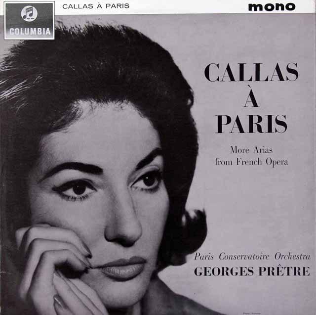 """""""パリのカラス"""" 英Columbia 2828 LP レコード"""