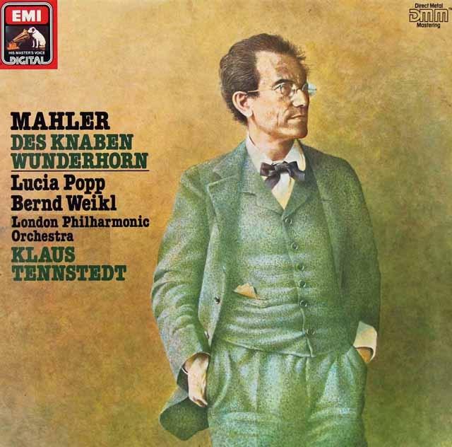 テンシュテットのマーラー/「少年の魔法の角笛」抜粋  独EMI 2830 LP レコード