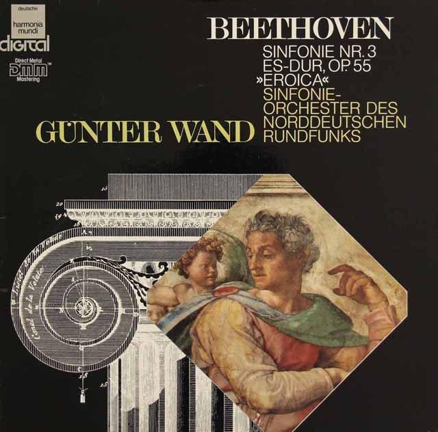 ヴァントのベートーヴェン/交響曲第3番「英雄」  独HM 2830 LP レコード