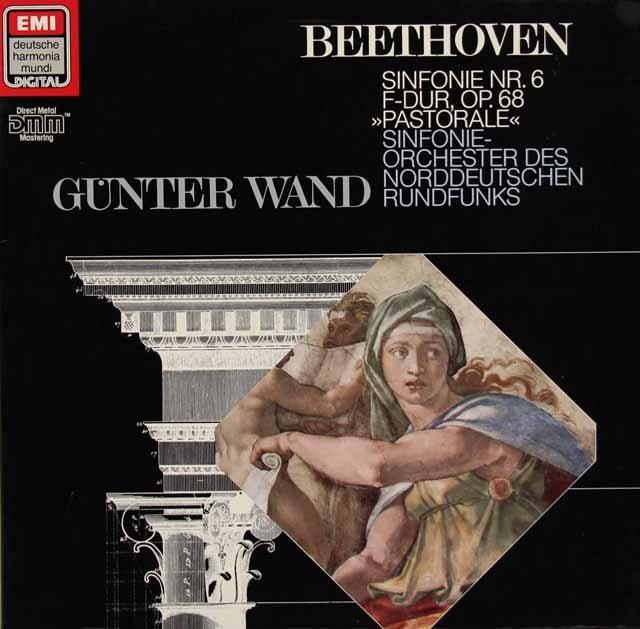 ヴァントのベートーヴェン/交響曲第6番「田園」 独HM 3295 LP レコード