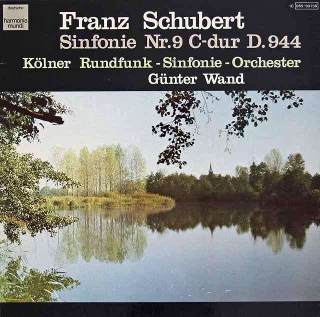ヴァントのシューベルト/交響曲第9番「グレイト」 独HM 3295 LP レコード