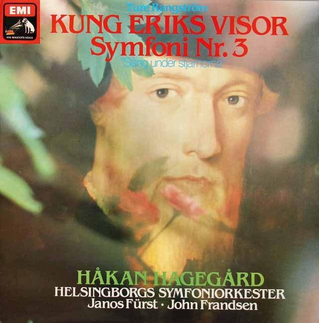 ハーゲゴールのラングストレム/「エーリク王の歌」ほか スウェーデンEMI 2833 LP レコード