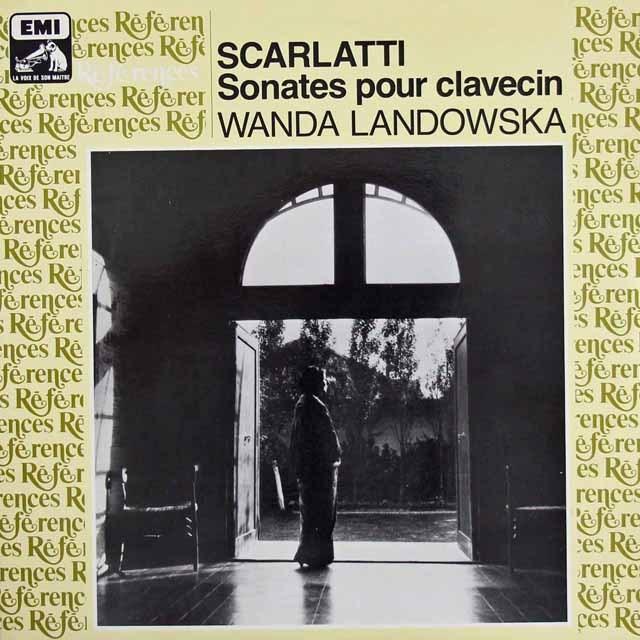 ランドフスカのスカルラッティ/ソナタ集(全40曲) 仏EMI(VSM) 3295 LP レコード