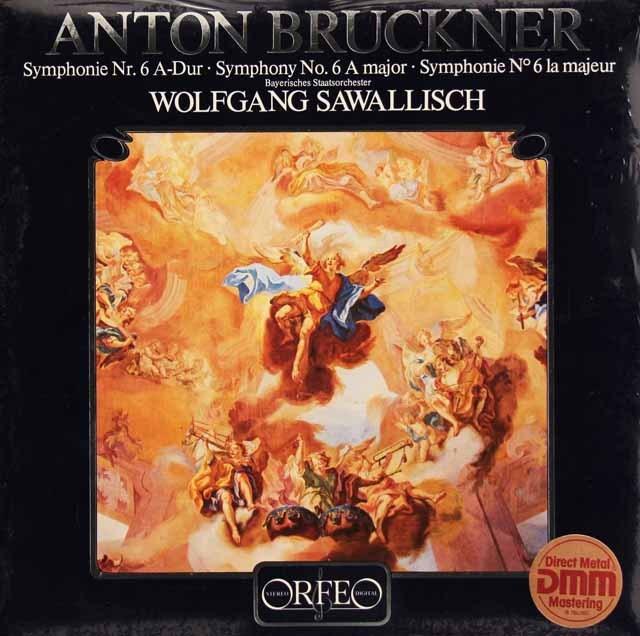 【未開封】 サヴァリッシュのブルックナー/交響曲第6番 独ORFEO 3295 LP レコード