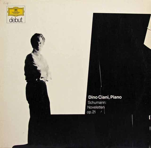 【日本未発売】 チアーニのシューマン/「ノヴェレッテン」  独DGG 3295 LP レコード