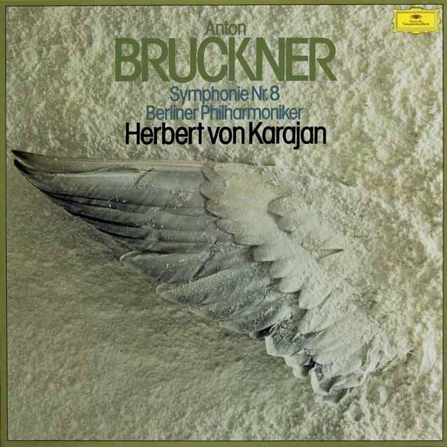 カラヤンのブルックナー/交響曲第8番 独DGG 3295 LP レコード
