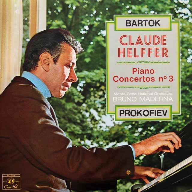 エルフェのバルトーク&プロコフィエフ/ピアノ協奏曲集 仏CH 3295 LP レコード